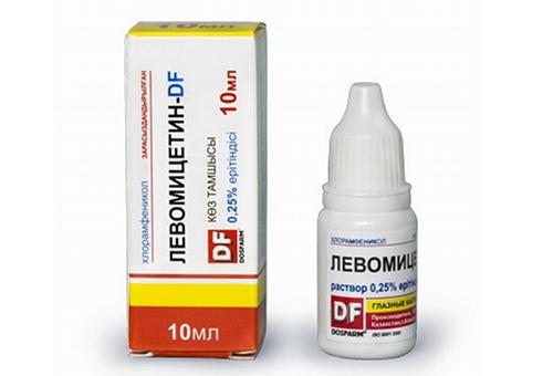 Левомицетин — это антибиотик, подавляющий рост и размножение бактерий.